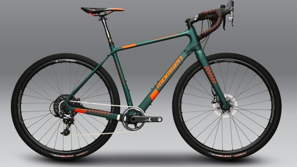 The R355 Gravel Bike Momsen Bikes